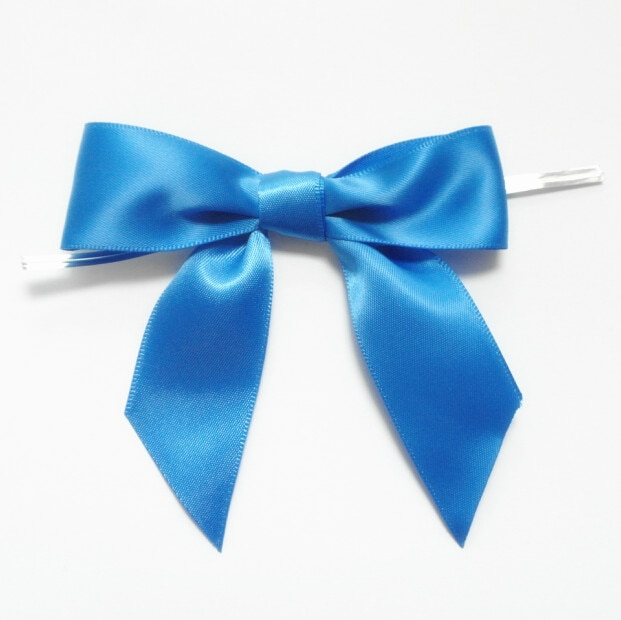 Metallic Twist Ties Bow Decor For Bag fasteners Sealing Cake Gift Tie2