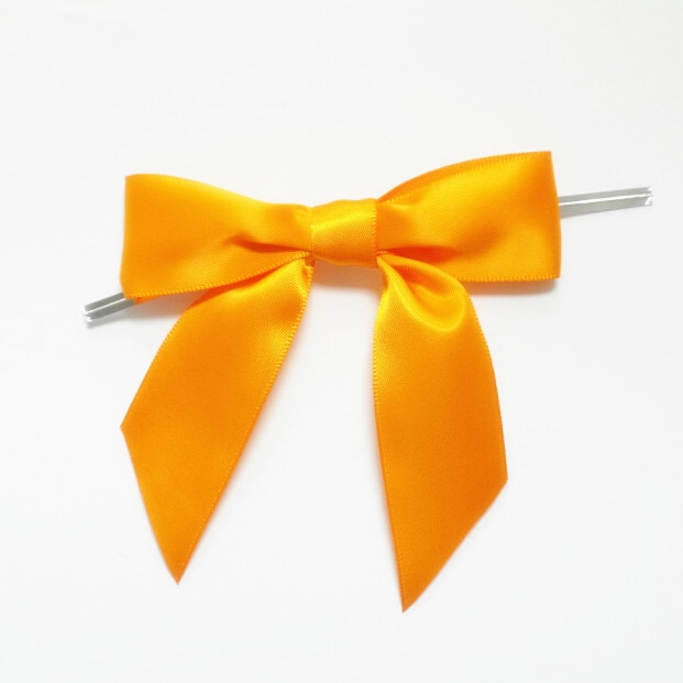 Metallic Twist Ties Bow Decor For Bag fasteners Sealing Cake Gift Tie