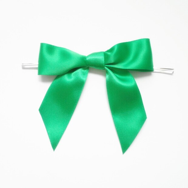 Metallic Twist Ties Bow Decor For Bag fasteners Sealing Cake Gift Tie3