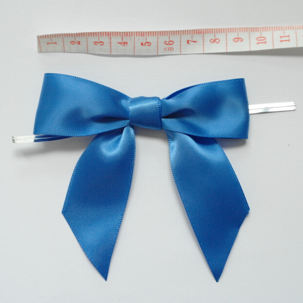 Metallic Twist Ties Bow Decor For Bag fasteners Sealing Cake Gift Tie5