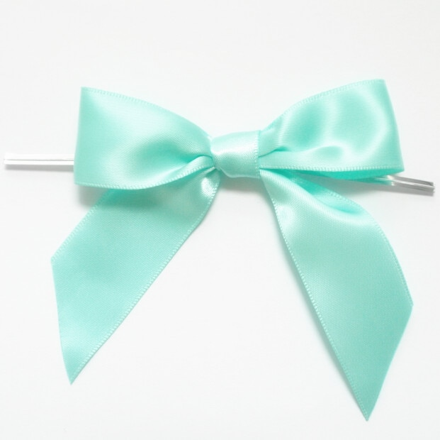 Metallic Twist Ties Bow Decor For Bag fasteners Sealing Cake Gift Tie1