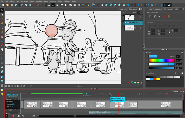 ToonBoom StoryboardPro