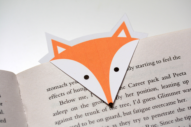 DIY Fox Bookmarks