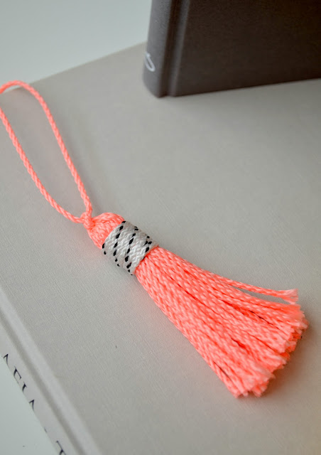 DIY Tassels Bookmark