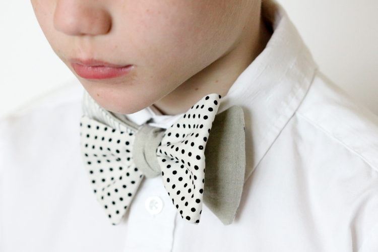 Free Sewing Pattern Mix Match Bow Tie