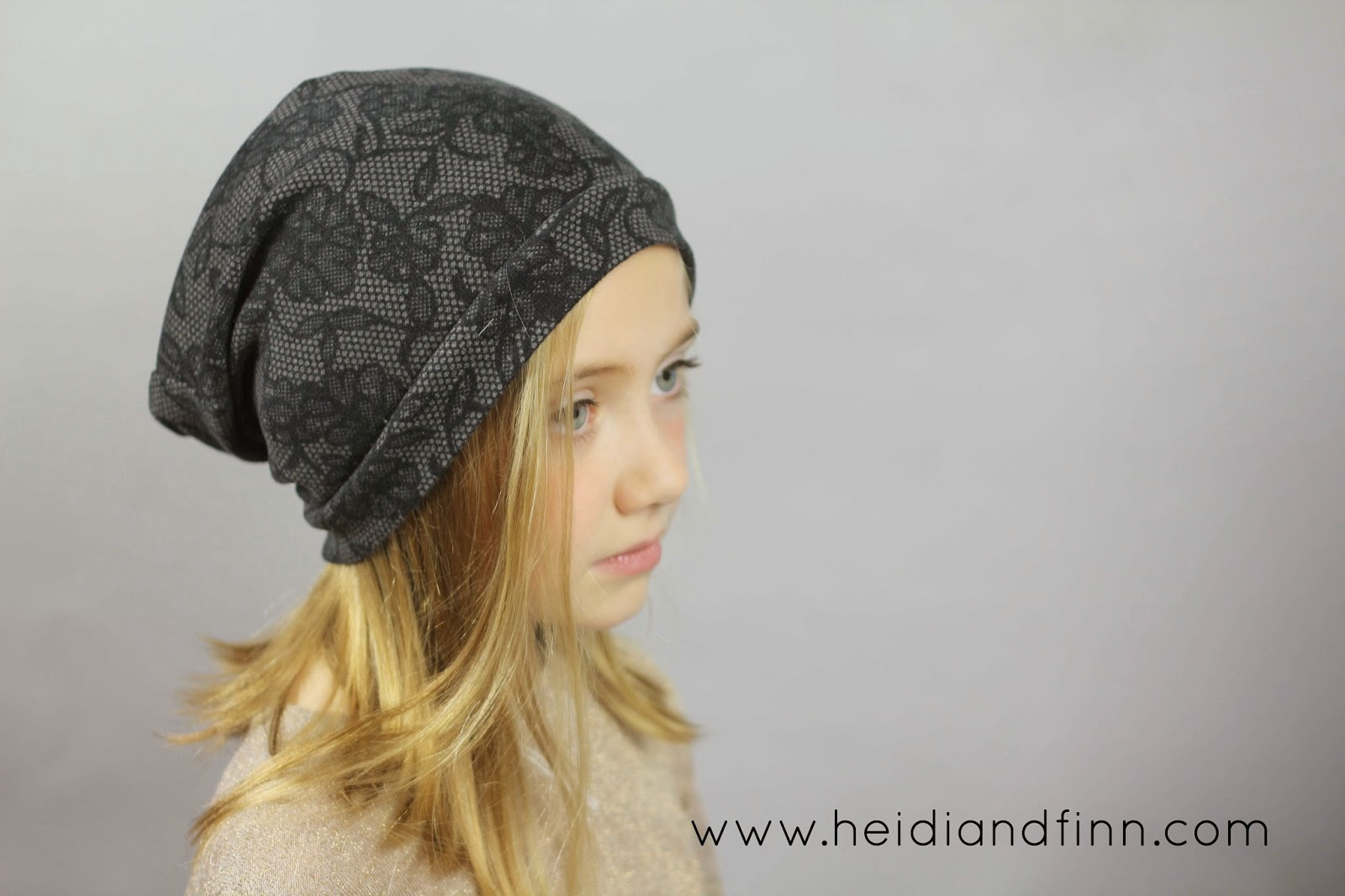 Free Sewing Pattern Slouchy Beanie