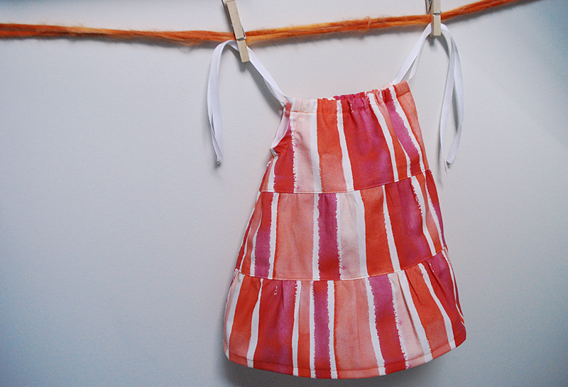 Free Sewing Pattern Tiered Dress