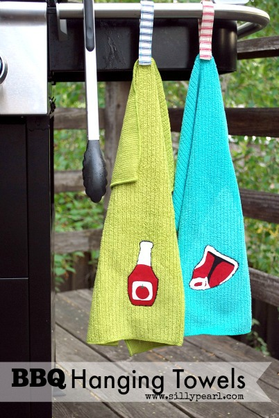 DIY BBQ Hanging Towels