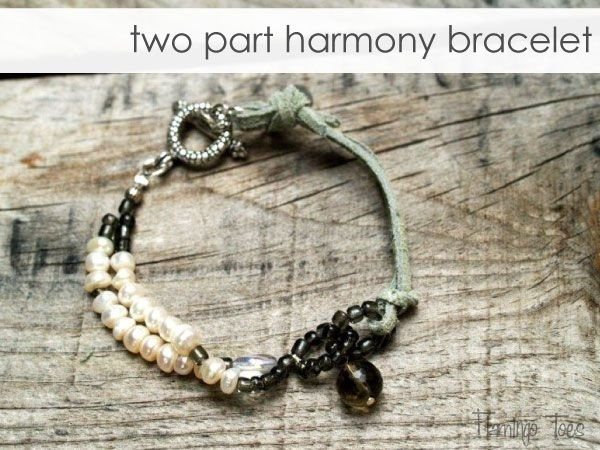 Two part harmoney bracelet