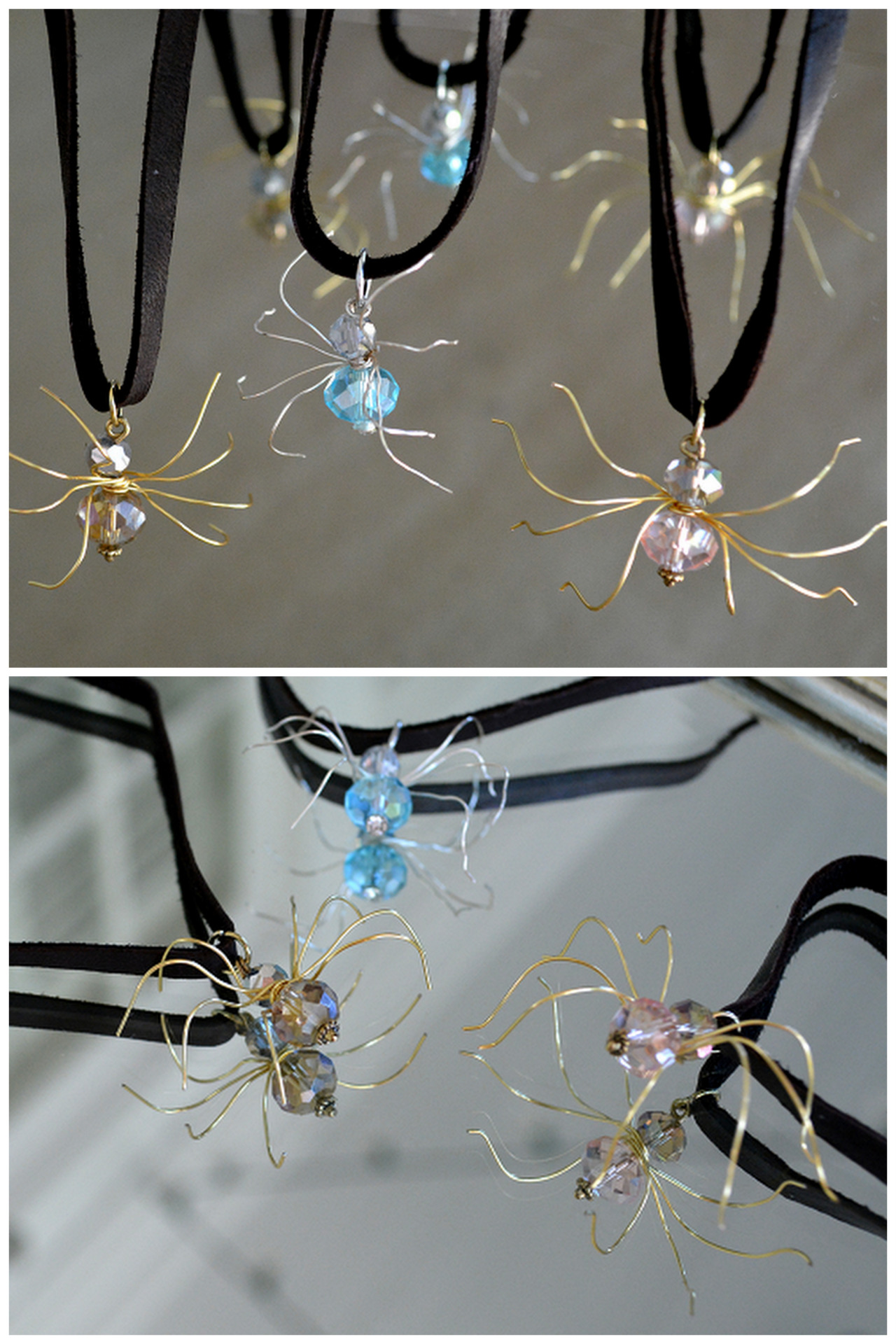 Diy wire spiders