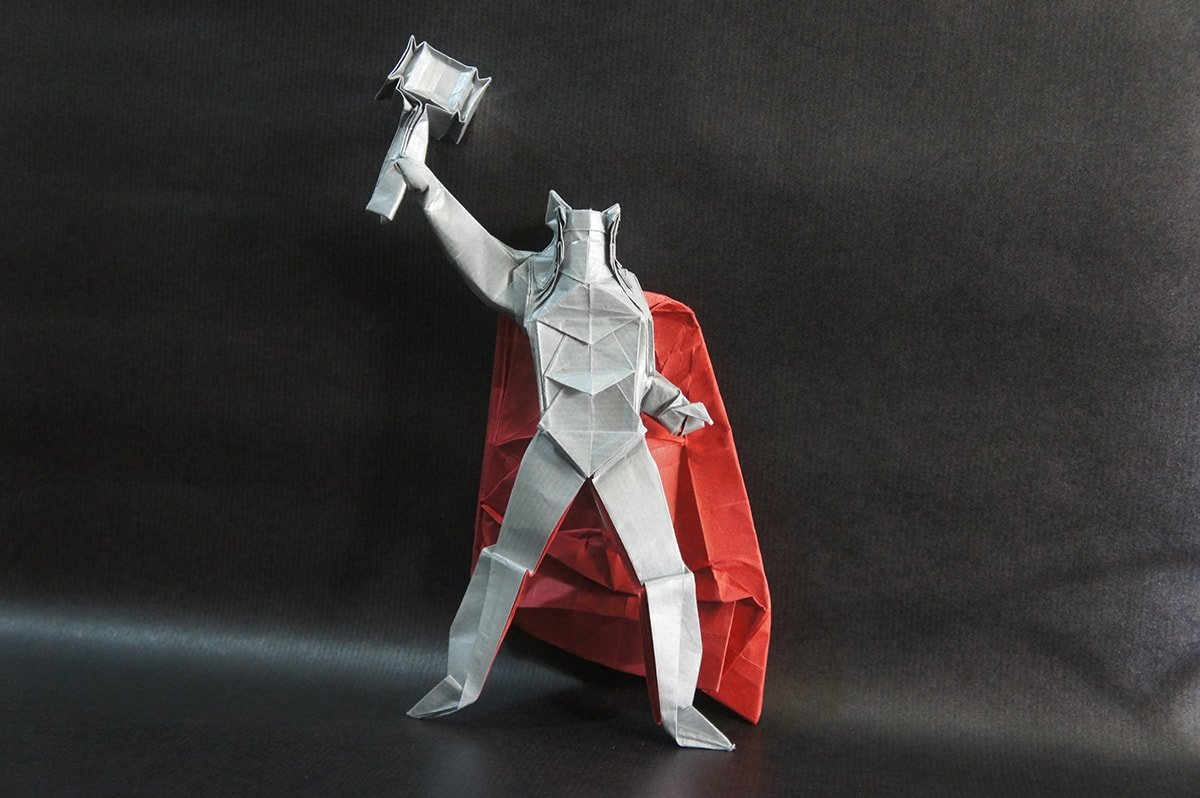 Thor Designed and Folded by Juanfran Carillo