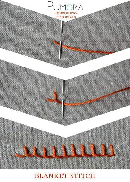 embroidery stitches for filling areas