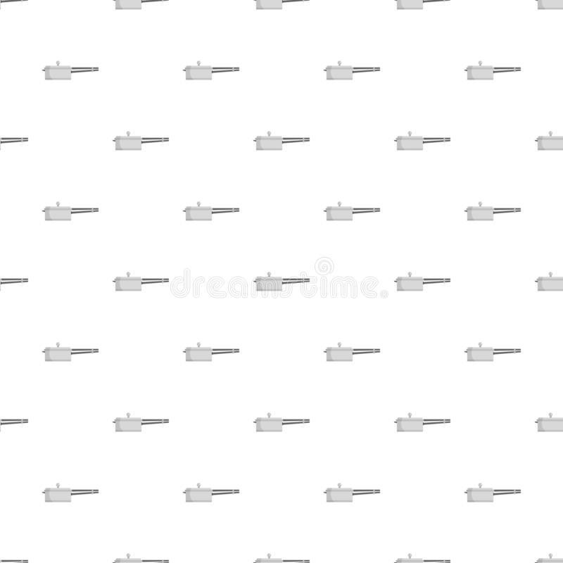 Culinary pan pattern seamless vector. Repeat for any web design stock illustration