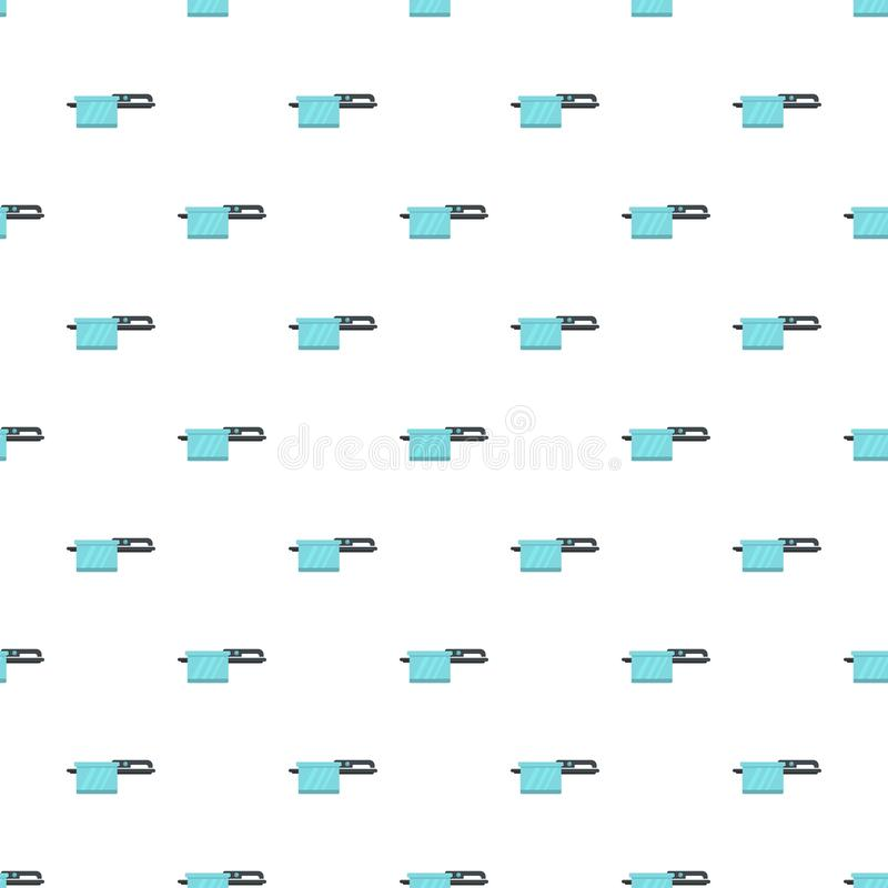 Pan pattern seamless vector. Repeat for any web design stock illustration