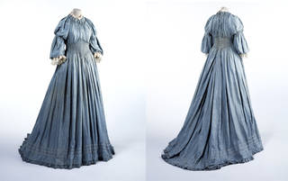 Dress, Liberty & Co. Ltd., about 1895, England. Museum no. T.17-1985. © Victoria and Albert Museum, London