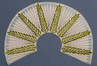 Collar, Mackay Hugh Baillie Scott, about 1903, England. Museum no. T.126-1953. © Victoria and Albert Museum, London