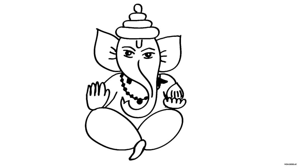 How to Draw Ganesha. 20 Pencil Drawing Lessons