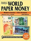 Great world banknote catalogue for a beginner and an advanced banknote collector and dealer! Period covered: 1961 and present.