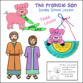 Free Prodigal Son Bible Lesson for Children from www.daniellesplace.com