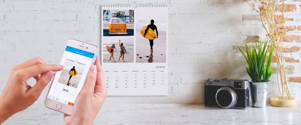 pixum photo calendar APP