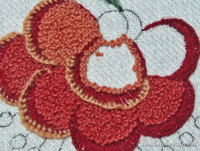 French Knot Flower