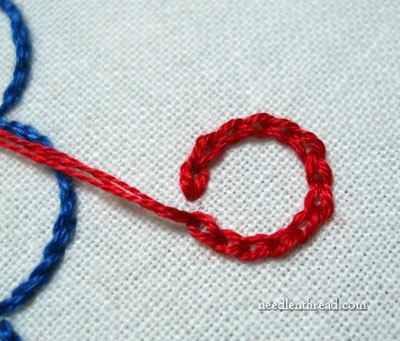 Joining Chain Stitch in a Circle