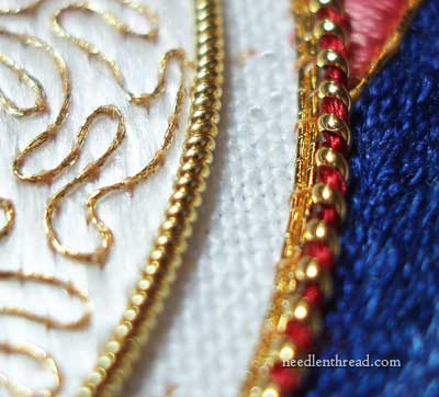 Goldwork & Silk Embroidery