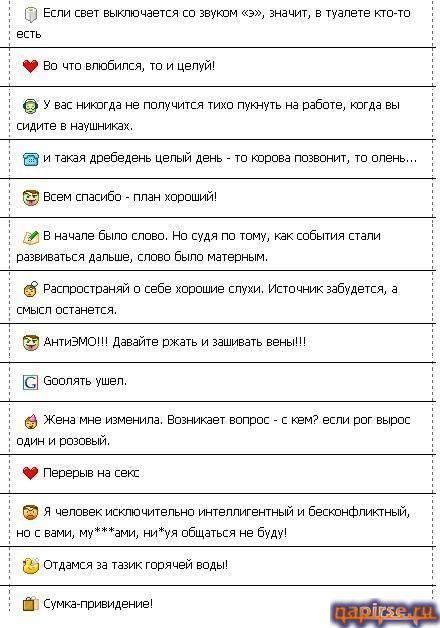 �������� ���������� �������� � ����� ICQ ISQ
