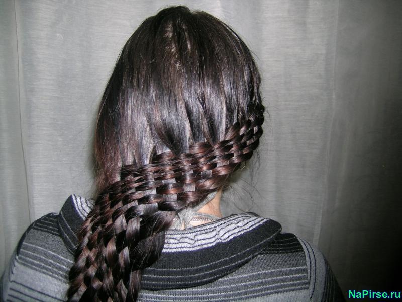 Картинки кос на короткие волосы - fd