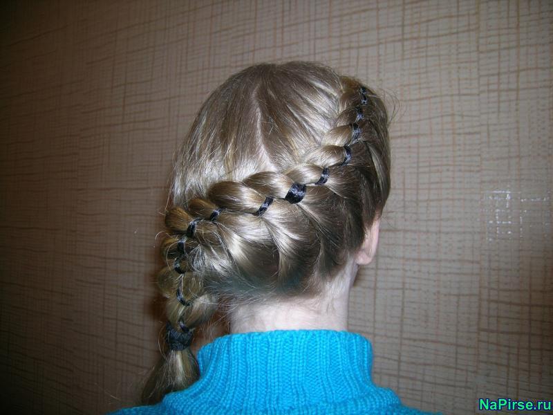 Картинки кос на короткие волосы - 88e1a